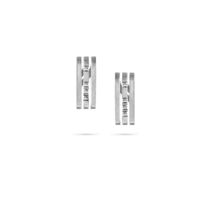 MATERjewellery tales LINESWhiteGold 18kt Diamonds Earrings 1181